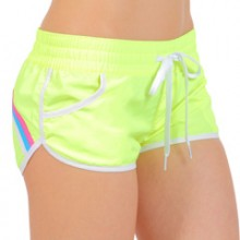 fluo yellow  shorts sea