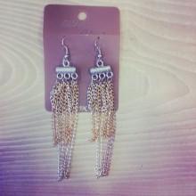orecchini fantasy argento e oro