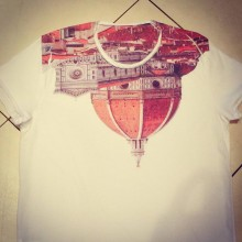 t-shirt Firenze up-down