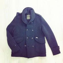 giacchetto lana cotta verde militare